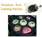 Jual Cetakan Kue 7 Lubang Variasi di Mataram