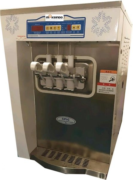 Jual Mesin Soft Ice Cream 3 Kran (Denmark Compressor) – ISC32 di Mataram