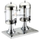 Jual Juice Dispenser / Buffet Dispenser 2 Tabung di Mataram