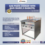 Jual Gas Pasta Cooker With Bain Marie (4 Baskets) MKS-PCBM4 di Mataram