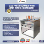 Jual Gas Pasta Cooker With Bain Marie (4 Baskets) MKS-PCBM4 di Mataram