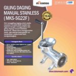 Jual Giling Daging Manual Stainless MKS-SG22 di Mataram