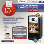 Jual Mesin Kopi Vending LAFIRA (3 Minuman) di Mataram