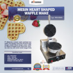 Jual Mesin Heart Shaped Waffle Maker (MKS-HSW01) di Mataram