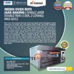 Jual Mesin Oven Gas 2 Loyang (MKS-GO12) di Mataram