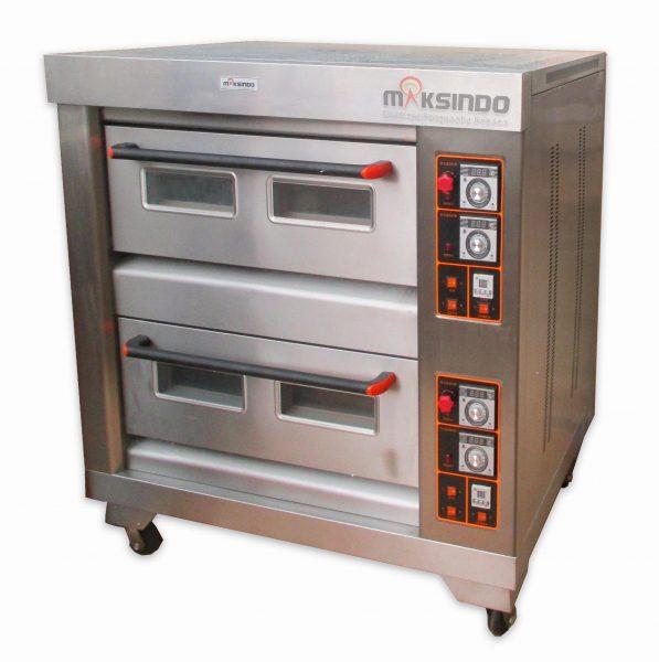 Jual Mesin Oven Roti Gas 4 Loyang (MKS-RS24) di Mataram