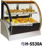 Jual Mesin Pastry Warmer (Hot Showcase) Penyaji Roti di Mataram
