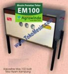 Jual Mesin Penetas Telur Manual 100 Telur (EM-100) di Mataram