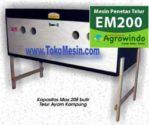 Jual Mesin Penetas Telur Manual 200 Telur (EM-200) di Mataram