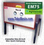 Jual Mesin Penetas Telur Manual 75 Butir (EM-75) di Mataram