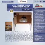 Jual Mesin Penetas Telur Otomatis 50 Telur (EM-50AT) di Mataram