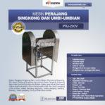 Jual Mesin Perajang Singkong Untuk Keripik di Mataram