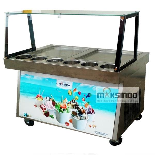 Jual Mesin Roll Fry Ice Cream RIC36x2 di Mataram