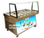 Jual Mesin Roll Fry Ice Cream RIC50x2 di Mataram