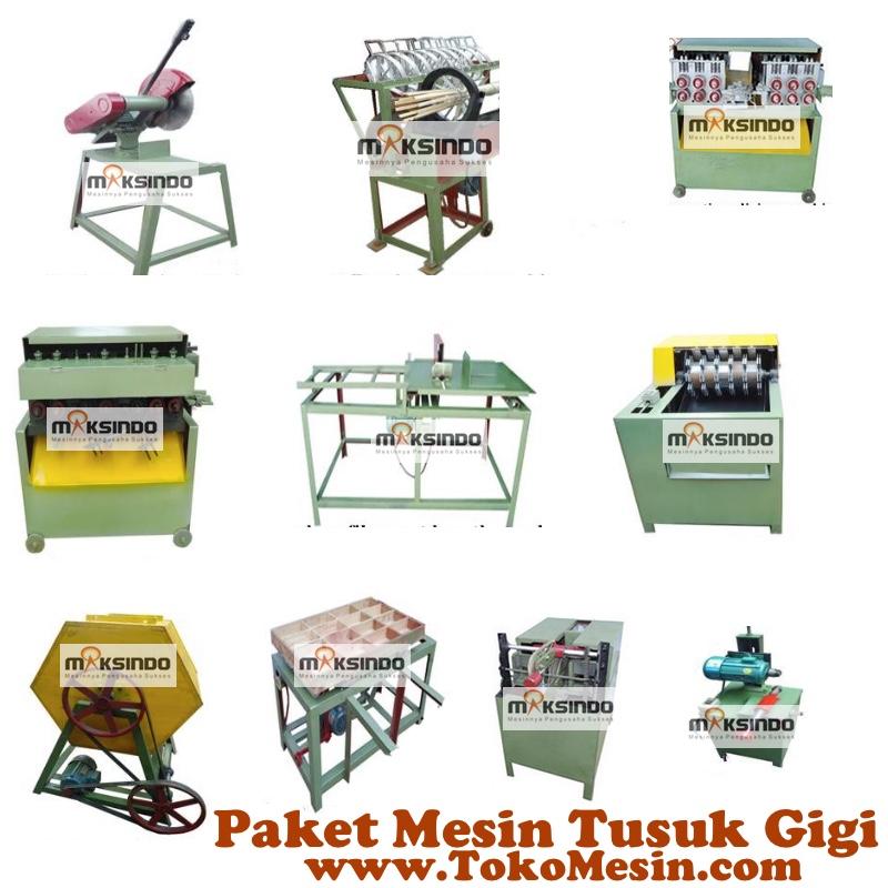 Jual Mesin Tusuk Gigi (paket komplit) di Mataram