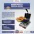 Jual Mesin Waffle Bentuk Kotak (WF-60) di Mataram