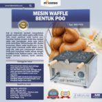 Jual Mesin Waffle Bentuk Poo (MKS-POO2) di Mataram