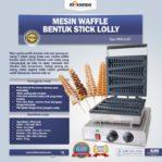Jual Mesin Waffle Bentuk Stick Lolly (LL40) di Mataram