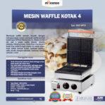 Jual Mesin Waffle Kotak 4 (WF04) di Mataram