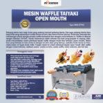 Jual Mesin Waffle Taiyaki Open Mouth (ETYK3) di Mataram