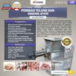 Jual Pemisah Tulang Dan Daging Ayam PTA-300 di Mataram
