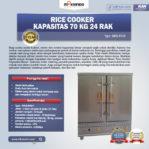 Jual Rice Cooker Kapasitas 70 Kg 24 Rak di Mataram
