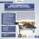 Jual Mesin Kambing Guling BBQ Roaster (GRILLO-LMB22) di Mataram