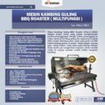 Jual Mesin Kambing Guling Gas (GRILLO-LMB33) di Mataram