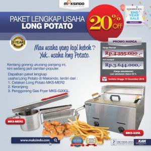 Jual Paket Mesin Long Potato Kentang Panjang di Mataram