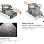 Jual Mesin Egg Waffle Listrik (EW06) di Mataram