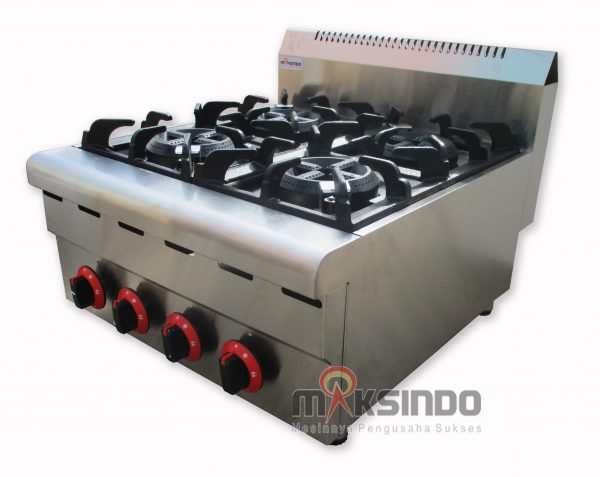 Jual Counter Top 4-Burner Gas Range di Mataram