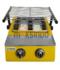 Jual Mesin Pemanggang Sate – BBQ 2 Tungku (Gas) di Mataram