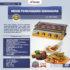 Jual Pemanggang BBQ Stainless (gas) 4 Tungku di Mataram