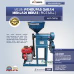 Jual Mesin Pengupas Gabah Menjadi Beras (Rice Mill) AGR-GRP80 di Mataram