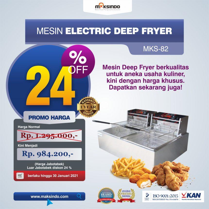 Jual Mesin Electric Deep Fryer MKS-82 di Mataram