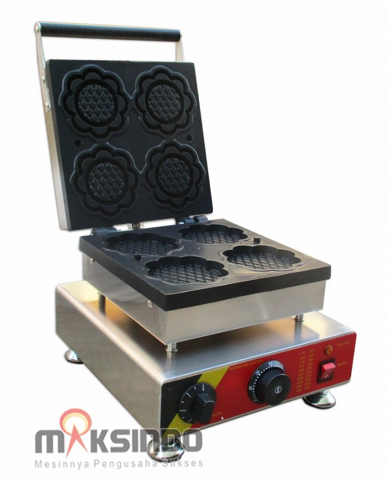 Jual Waffle Maker Bentuk Bunga MKS-BNG04 di Mataram
