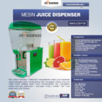Jual Mesin Juice Dispenser MKS-DSP18 di Mataram