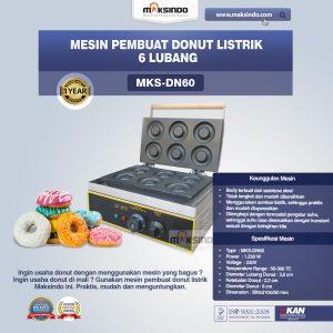 Jual Mesin Pembuat Donut Listrik 6 Lubang di Mataram