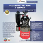 Jual Mesin Roasting Kopi + Blower LAFIRA05 di Mataram