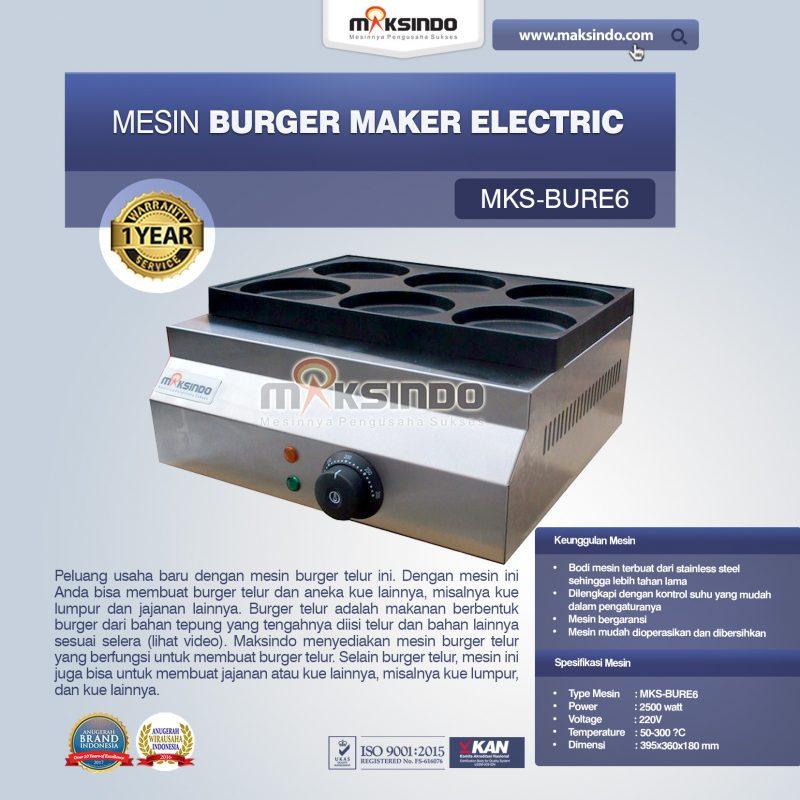 Jual Burger Maker Electric MKS-BURE6 di Mataram