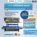 Jual Mesin Continuous Band Sealer MSP-770IIB di Mataram