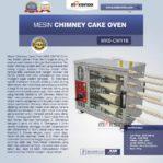Jual Mesin Chimney Cake Oven MKS-CMY16 di Mataram