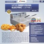 Jual Electric Fryer Listrik MKS-82B di Mataram