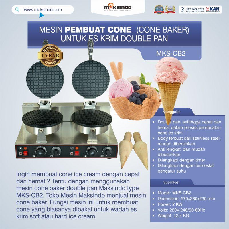 Jual Pembuat Cone Ice Cream (CB2) di Mataram