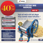 Jual Cetak Mie Manual Untuk Usaha (MKS-150B) di Mataram