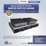 Jual Mesin Waffle Listrik Bentuk Hati 50 Lubang MKS-HSW50E Di Mataram