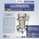 Jual Mesin Ayakan Tepung Stainless Berkualitas di Mataram