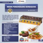 Jual Mesin Pemanggang Sate – BBQ 6 Tungku (Gas) di Mataram
