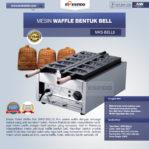 Jual Mesin Waffle Bentuk Bell (MKS-BELL5) di Mataram