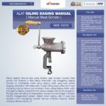 Jual Alat Giling Daging Manual (Iron) di Mataram